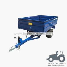 China 1.5TR2W  off road Hydraulic dump trailer 1.0ton supplier