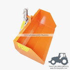 China 5TSCP - Farm equipment tractor 3point hitch trip scoop factory