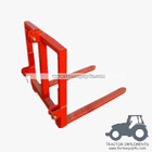 China Tractor implements 3 point Pallet Mover bale mover factory
