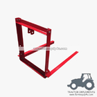 China CAFA500 - Tractor 3-Point Carry-Alls Fork Attachment  500lbs factory