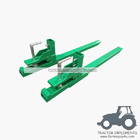 China Tractor Front end loader clamp on pallet forks 1000lbs factory