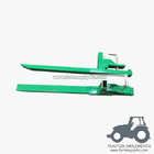 China Tractor Front end loader clamp on pallet forks 2000lbs factory