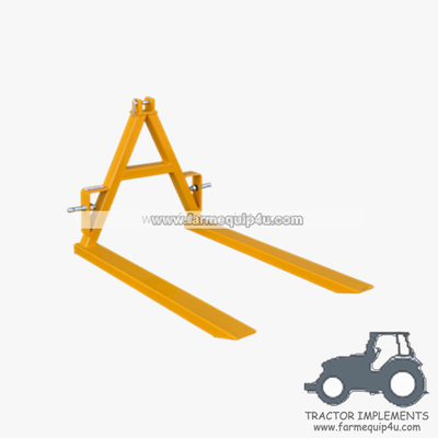 China PF2000 - Tractor implements Pallet Forks 2000kgs distributor