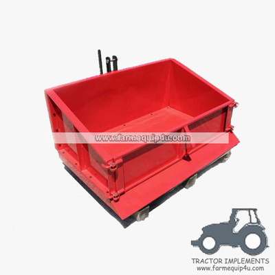 China TTB100 - Farm equipment tractor 3point hitch transport box,link box distributor